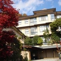 【日長庵桂月】秋の全景