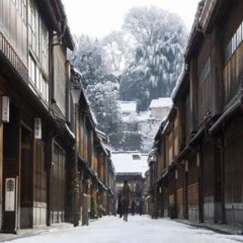 冬の東茶屋街
