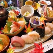 季節を味わう寿司会席