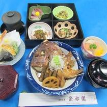 【瀬戸内産の鯛荒炊き付御膳】新鮮とれたての鯛を使用♪