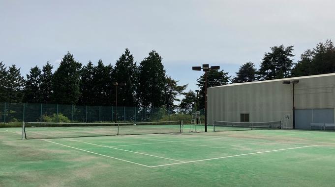 【テニス宿泊】恵那のさわやかな空気の中でとことんテニスを楽しもう!(2食付)【ペット同伴不可】