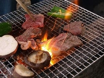 男の料理 ?! BBQ (^^)