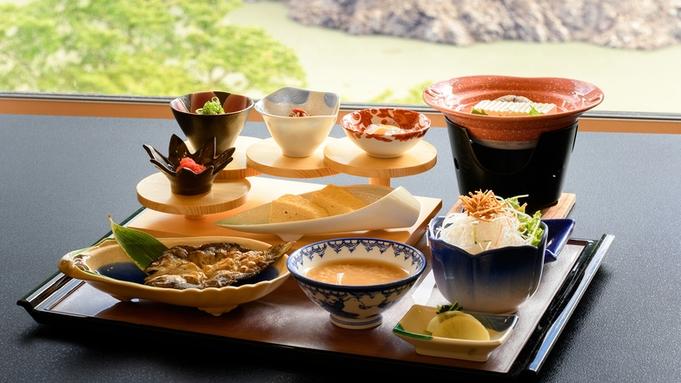 ■お手軽会席‐明神■品数少な目で、少食の方にもおすすめ。奈良の旬を味わう。