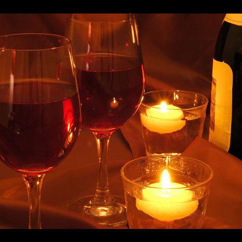 ワインキャンドルイメージ
