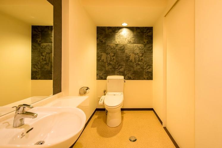VIPルーム・洗面台・トイレ