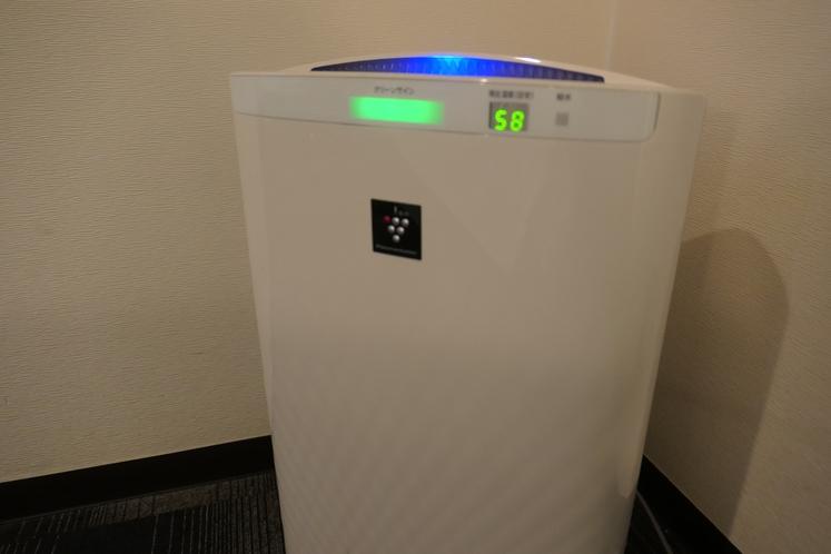 全室完備!空気の汚れを浄化!シャープの空気清浄機は、プラズマクラスター搭載!