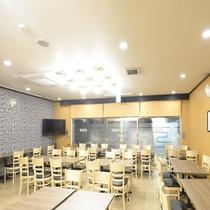 朝食会場(46席)