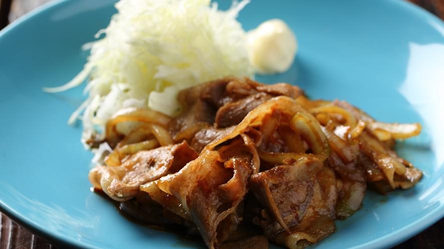 ■人気メニュー豚の生姜焼き(ランチ)