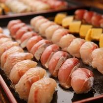 バイキングの人気メニューお寿司