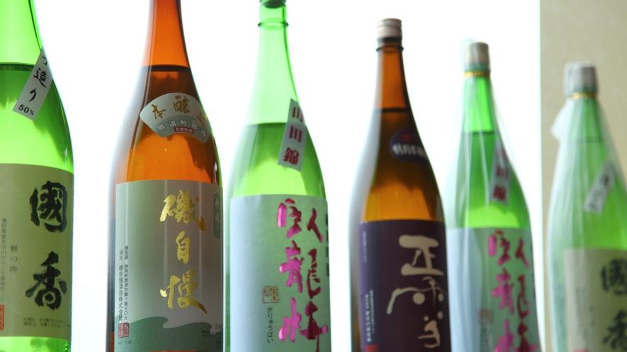 ■各種日本酒取り揃えております