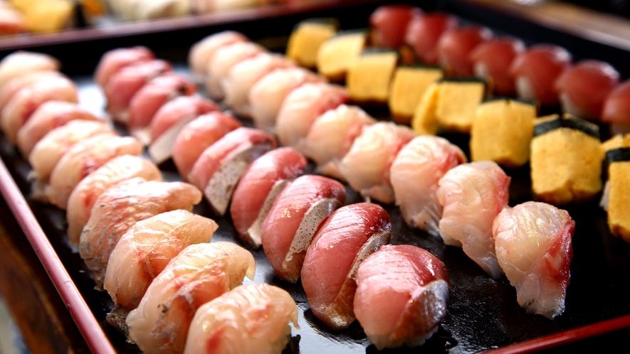 ■バイキングの人気メニューお寿司