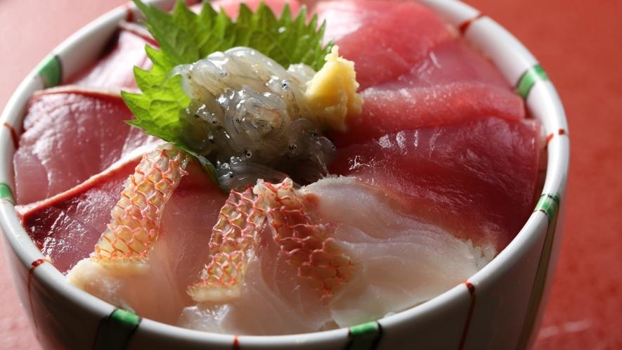 ■新鮮海鮮丼(ランチ)