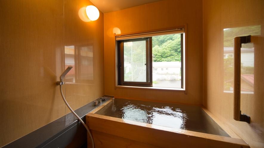 特別和室-01木曾檜風呂