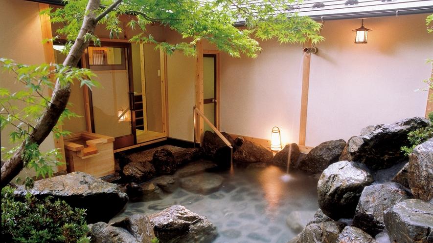 貸切露天風呂-02緑