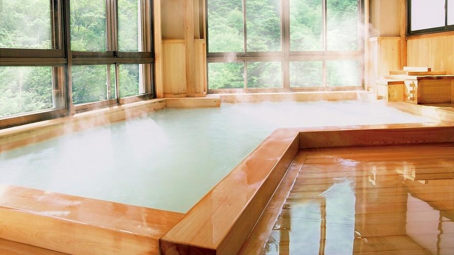 ◆大檜風呂-02緑