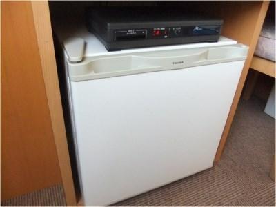 お部屋の冷蔵庫です♪もちろん全室完備!