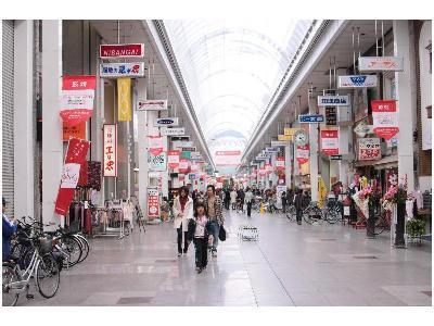 帯屋町です☆アーケード商店街です☆ホテルから徒歩1分♪