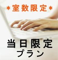 【当日限定】☆★☆ポイント2倍プラン☆★☆【シングルルーム】