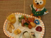 大好評のお子様プレートは500円!事前のご予約をお願いいたします。
