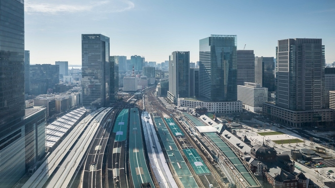 【秋冬旅セール】電車がみえるお部屋確約!東京駅上空のトレインビューを堪能(食事なし)