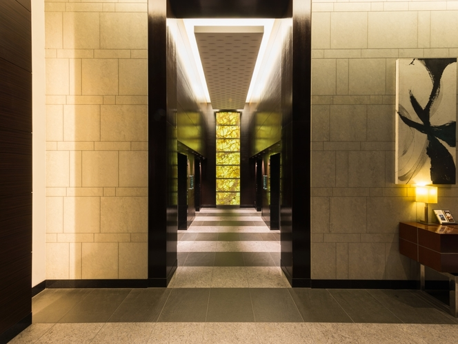 1階 ホテル専用エレベーター