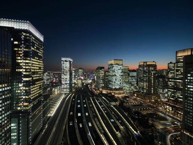 東京駅を見下ろす眺望イメージ