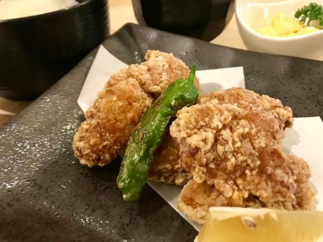 ◆夕食プラン・鶏の唐揚げ◆