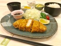 ◆夕食プラン①とんかつ◆