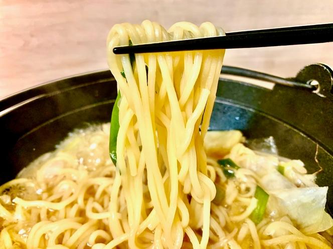 ◆もつ鍋の〆はこれですね◆