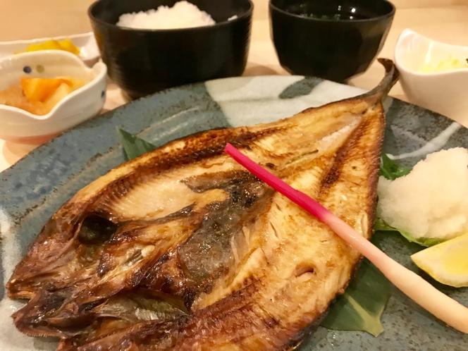 ◆夕食プラン・ほっけの塩焼き◆