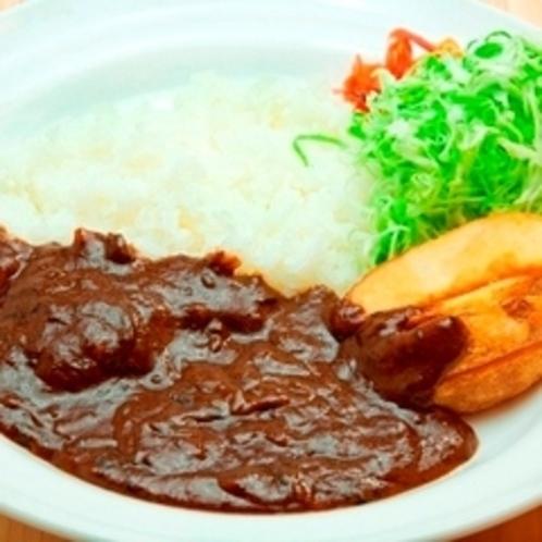 ■夕食レストラン花々亭にて・・・■ルートインオリジナル上田カリー。家庭の味とは違ったカリーを是非!