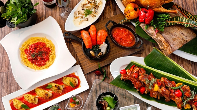 【スタンダード/2食付き】直前までご予約可能!沖縄食材をふんだんに使用した朝食&夕食ブッフェ付