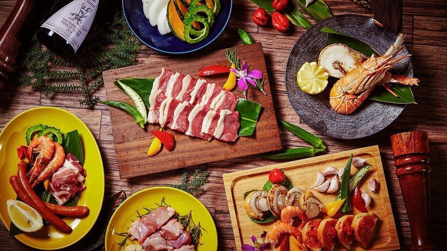 【リゾート内レストラン/南風 屋台村BBQ】宮古島の開放感にぴったりのBBQ!