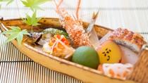 夏のお料理一例:前菜若鮎