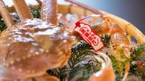 冬の料理一例:地元水揚げ松葉ガニ