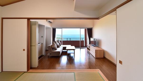 【和洋室/49平米】リビングダイニングに6畳和室(Bタイプ)