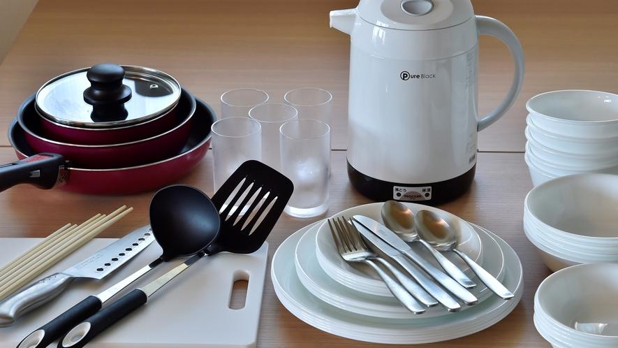 食器・調理器具一例