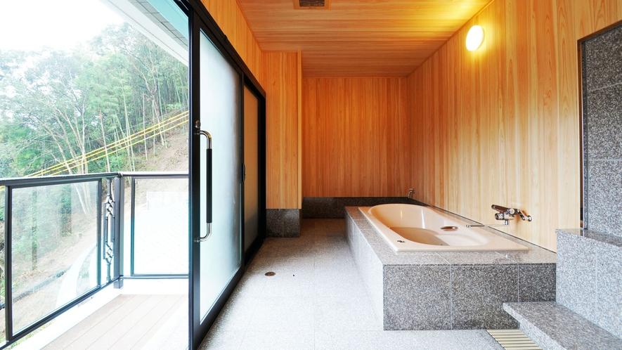 【客室】スイートルーム:個室でゆったりとご入浴をお楽しみください♪