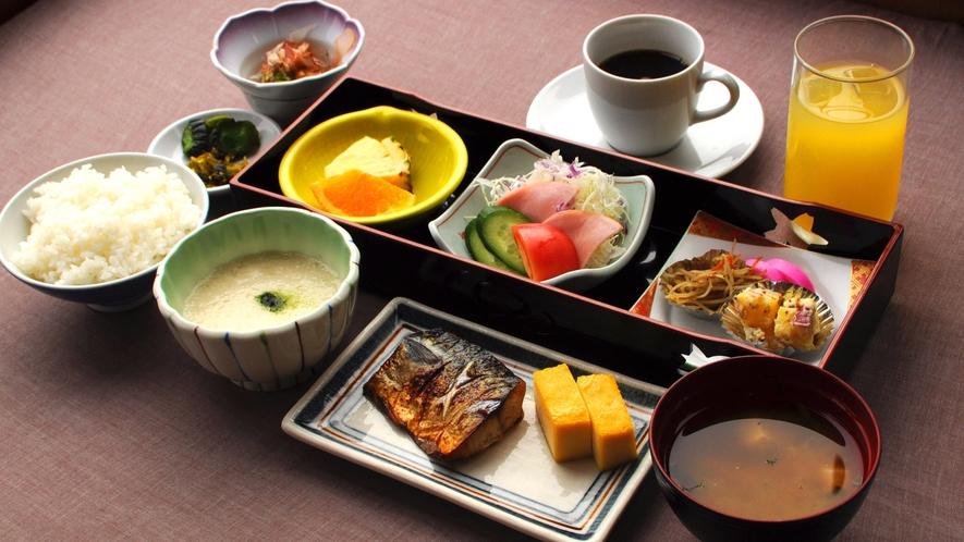 【朝食の一例】栄養満点のほっこり和朝食をどうぞ♪
