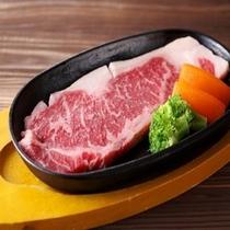 【霧降高原牛のステーキ】