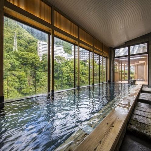 渓谷大浴場【男湯】 2017リニューアルOPEN