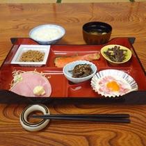 *【朝食例】朝からしっかり栄養補給!お仕事・観光へいってらっしゃい