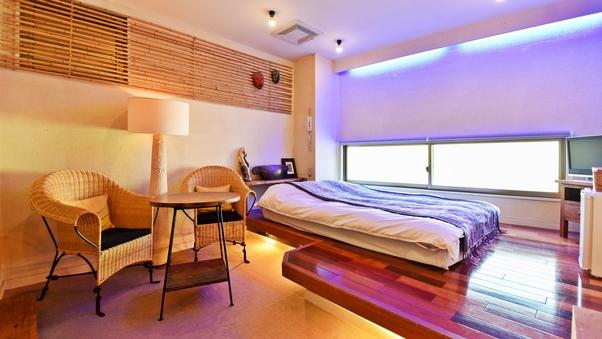 【竜胆】かわいい猫足バスタブのお部屋(2階)