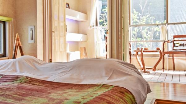 【早蕨】緑の涼やかな八角形風呂のお部屋(2階)