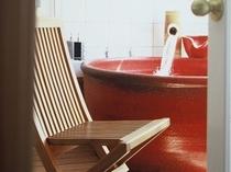 アジアンルームお風呂一例