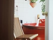 「紅柄」のお風呂