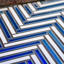 *〔瑠璃〕ブルーを基調とした爽やかな部屋は設えも青色にこだわりました