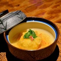 *【夕食一例】変り鉢~柚子味噌団子 蟹餡掛け~