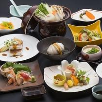 山村別館料理長おまかせ会席 料理イメージ【冬】