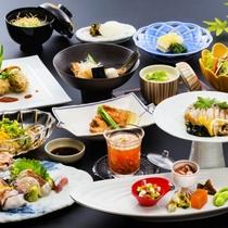 山村別館料理長おまかせ会席 料理イメージ【夏】